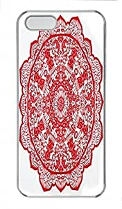 Chinese Papercuts PC Transparent For Iphone 5C Phone Case Cover - Together
