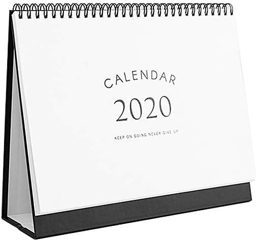 Home Landmark,M 2020 Standing Desk Calendar Desk Stand Up Calendar Calendar Monthly Planner with Circular for School Office
