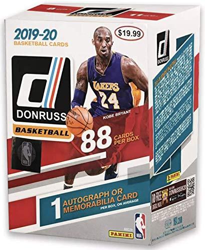 2019-20 Panini NBA Donruss Basketball Blaster Box - 88 Total Cards - 1 Autograph or Memorabilia Card per Box by Panini