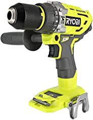 Ryobi P251 One+ 18V Lithium Ion 750 Inch Pound Brushless Hammer Drill Driver w/ 3 Drilling Modes, 24 Position
