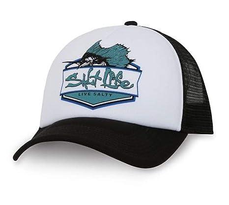 6a785ecb66 Salt Life Youth Boys 8-20 Sailfish Badge Snapback Hat Cap