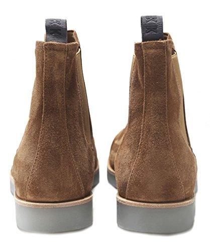 Nubikk Men's Suede Logan Chelsea Boots Cognac Cognac iJLUiZIR