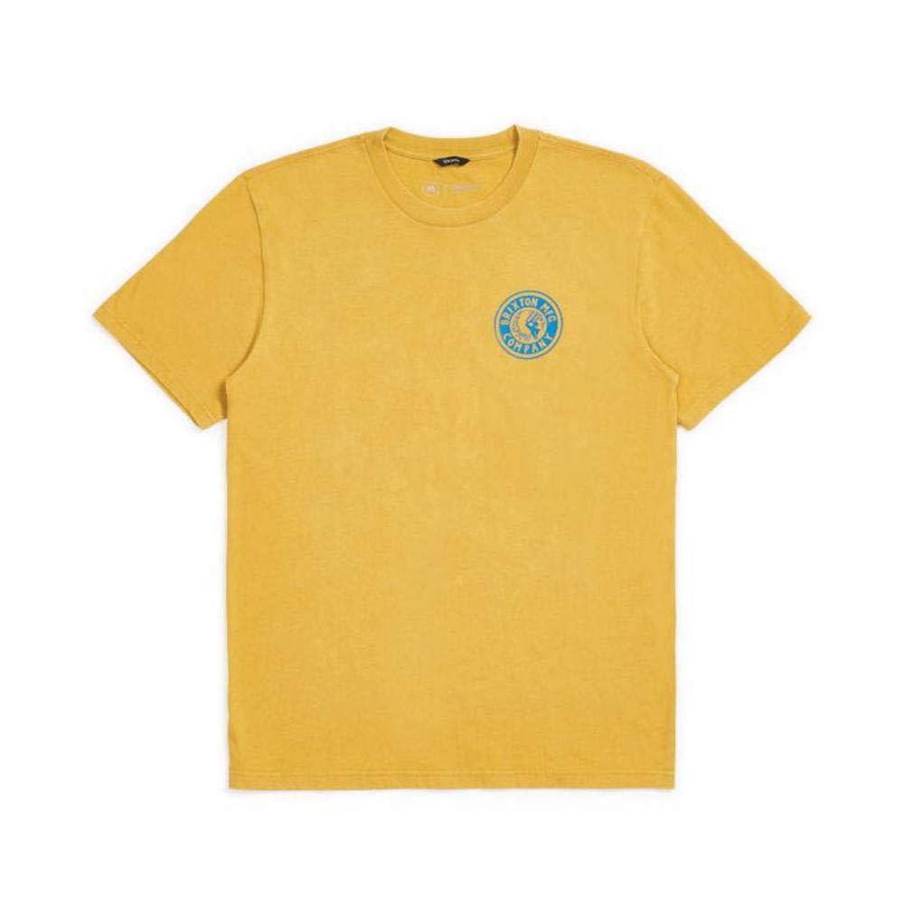 Brixton Mens Rival Ii Standard Fit Short Sleeve T-Shirt