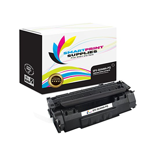 Smart Print Supplies Compatible 49A Q5949A Black Premium Toner Cartridge Replacement for HP 1160 1320 Printers (2,500 ()