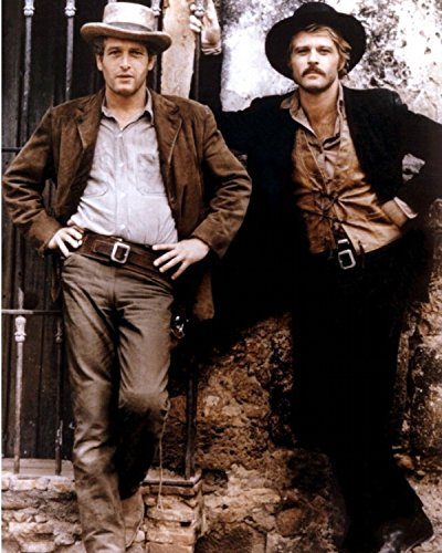 11 x 14 Inch Puzzle 252 Pcs Paul Newman and Robert Redford in Butch Cassidy and The Sundance Kid Color