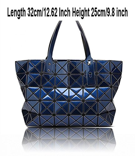 Shopper Shape Women's Bags Women Black Handbag Prism School College Prism Handbag for Rucksack LeahWard Rucksacks Shopper Aw7xw