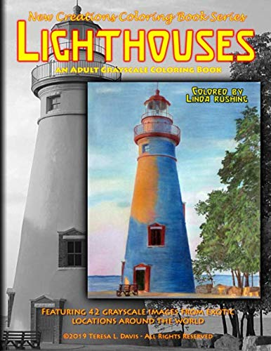 New Creations Coloring Book Series: Lighthouses