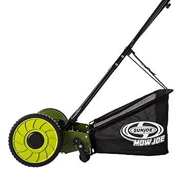 Sun Joe MJ500M Mow Joe 16-Inch Manual Reel Mower with Catcher