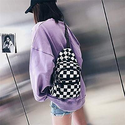 Autumn Water Hot Waist Bag Women Men Unisex Chest Pack Lattice Checkerboard Fanny Pack Female Shoulder Belt Bag New Plaid Hands Bag