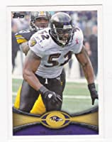 2012 Topps Football Card # 25 Ray Lewis - Baltimore Ravens (NFL Trading Card)