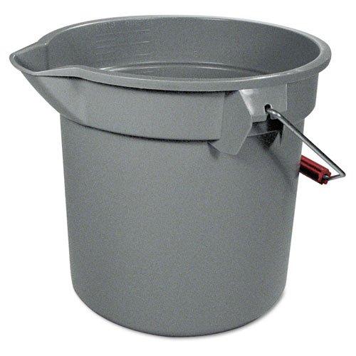 Plastic 14 Quart Round Bucket - 7