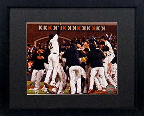 SF Giants Matt Cain Perfect Game Celebration 8x10 Photograph (SGA UnderFifty Series) Framed