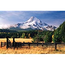 Mt. Hood X - Fine Art Print on CANVAS - Gallery Wrapped - READY TO HANG - 36 x 24 Inch