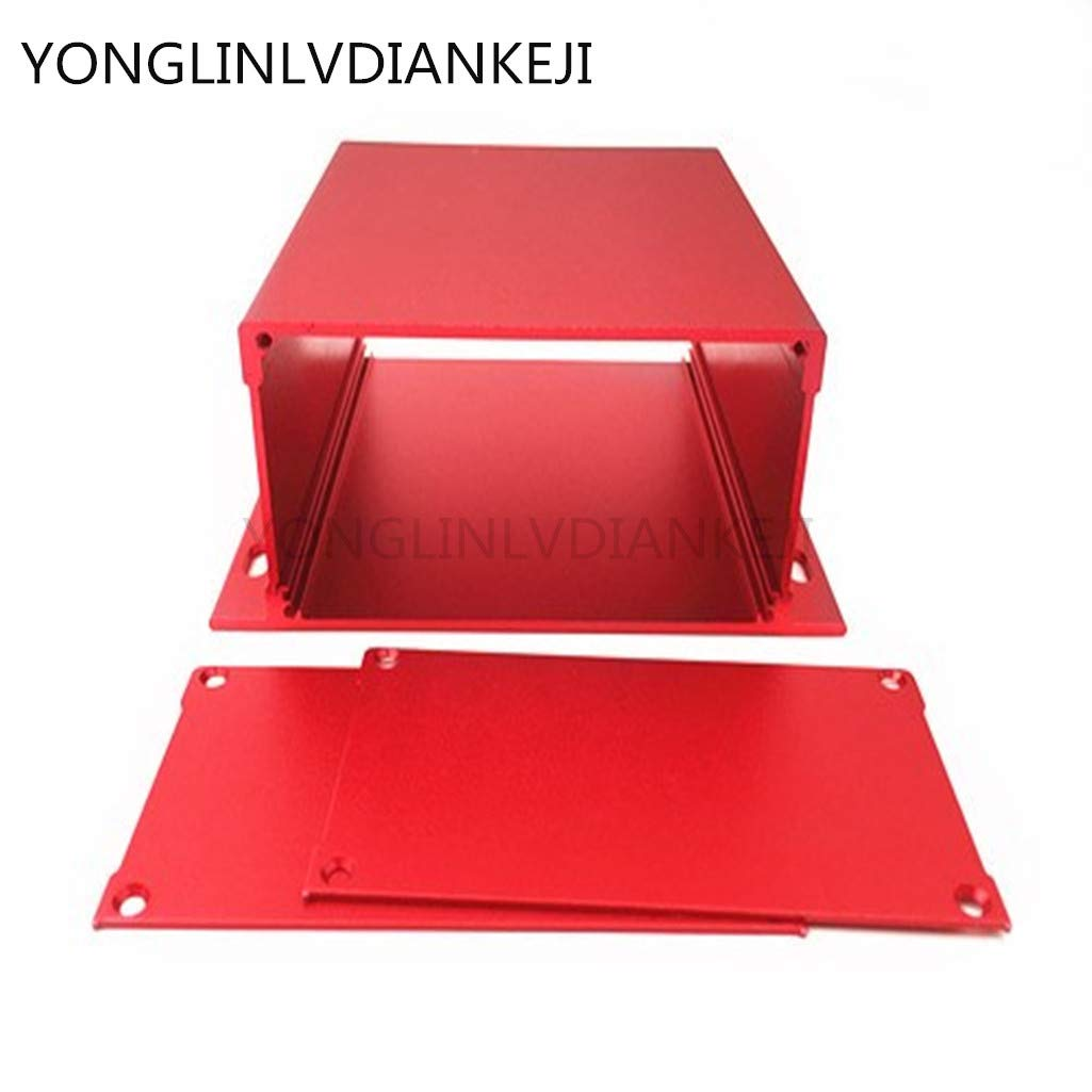 YONGLINLVDIANKEJI 2pcs pcb box 131X54-120mm/aluminum box/Controller aluminum housing/Device housing/Extruded aluminium profile housing