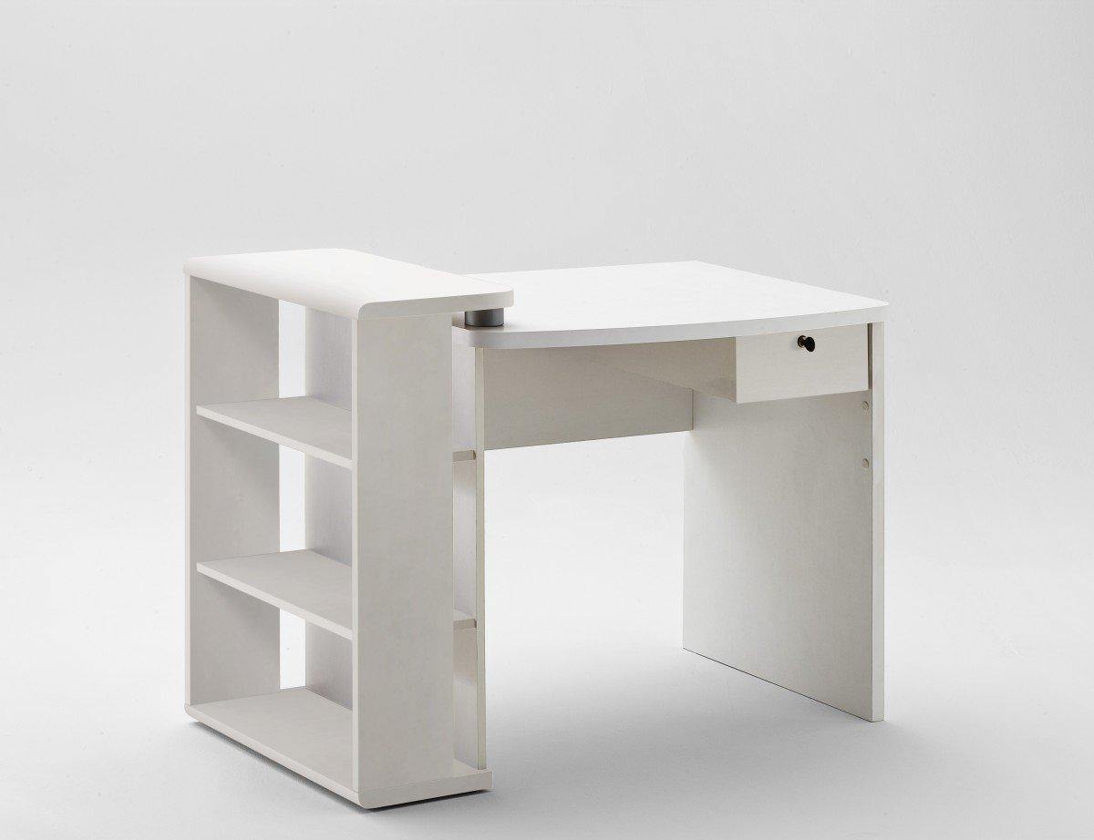 Dreams4Home escritorio Celine, blanco, puerta de armario, mesa de ...