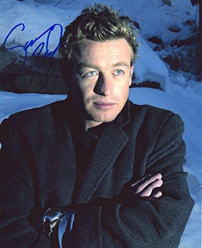 - Simon Baker Autograph Signed 8 x 10 Photo