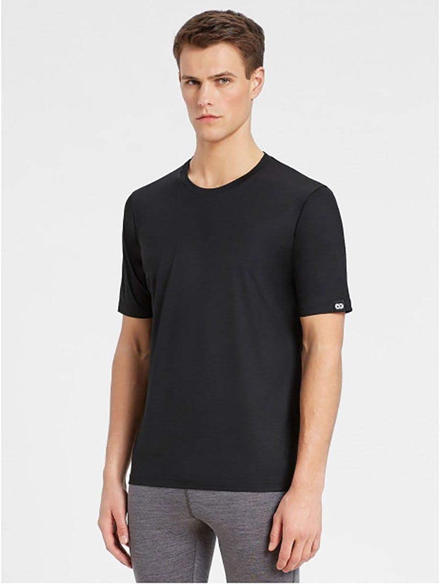 REWOOLUTION Reda Trick T Shirt Men/ /Funzione Shirt in Lana Merino