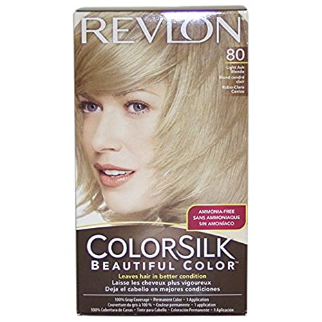 Buy Revlon Colorsilk Beautiful Color Light Ash Blonde 80 Online At