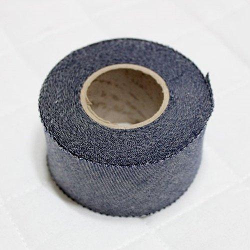 Bias Tape binding Pre Dyeing Cotton trim 4cm Solid Bias Cut (Denim Blue)