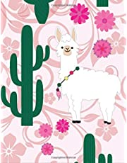 Cactus Notebook: Watercolor Green Succulents Plants Cactus Journal Notebook 110 Page Composition Book Diary Planner Cactus Lover Gifts (8.5 x 11 inch)