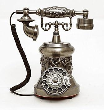 Xqcay Teléfono Antiguo Tocadiscos Vintage Moda Teléfono De ...