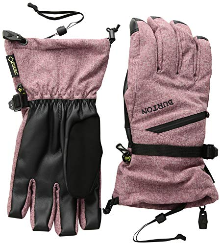 Womens Snowboard Burton Glove (Burton Women's Gore-Tex Glove, Port Royal Heather, Small)