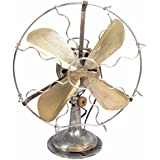 Global Art World Superb Old The Orbit Veritys Original Electric Fan W Twin Lever Mechanism HB 090