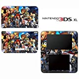 Kingdom Hearts Final Mix II Decorative Video Game Decal Cover Skin Protector for Nintendo 3DS XL