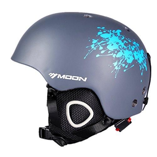 SUNVP Ski Helmet Integrally Windproof Lightweight Breathable Outdoors Snowboards Helmets Adult Snow Sports Helmet
