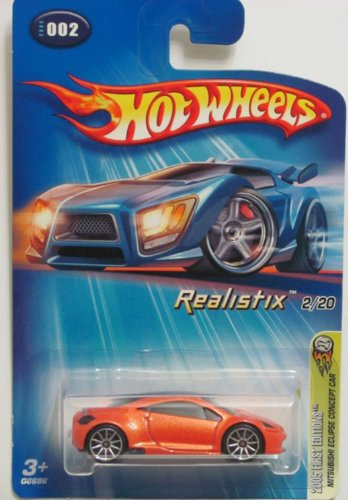 mitsubishi eclipse hot wheels - 2