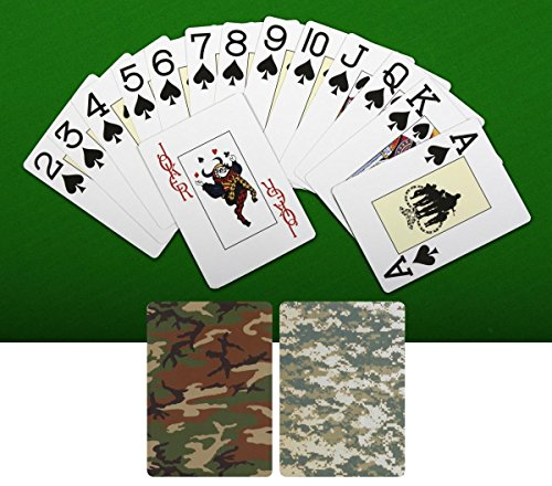 Rothco Playing Cards, Woodland Camo - Camouflage Playing Cards