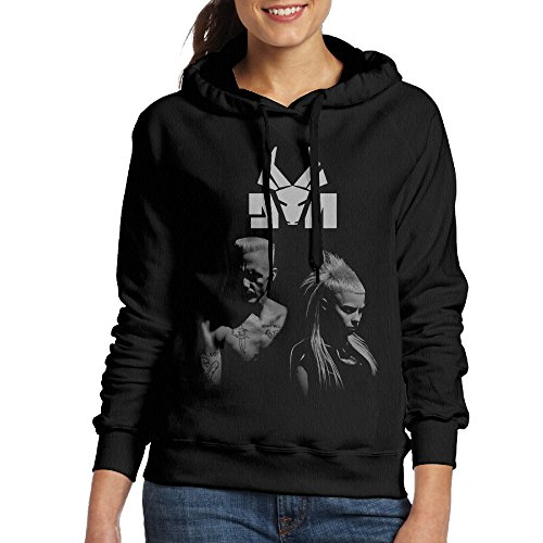 Cool-Die-Antwoord-2016-Tour-Poster-Womens-Pullover-Hooded-Sweatshirt