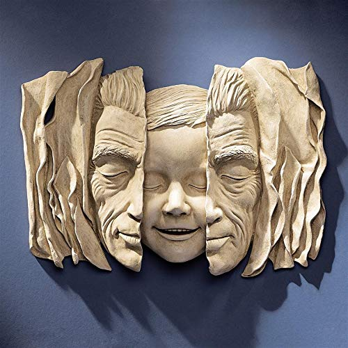 Design Toscano Child at Heart Wall Sculpture