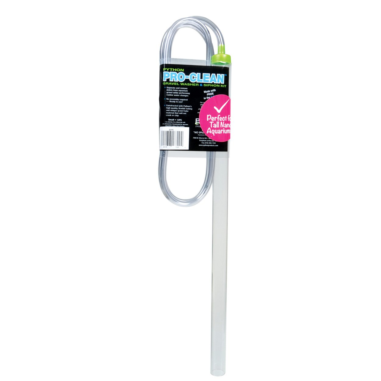 Pet Supplies Python Pro-clean Gravel Washer And Siphon Kit For Aquarium Large Cleaning & Maintenance