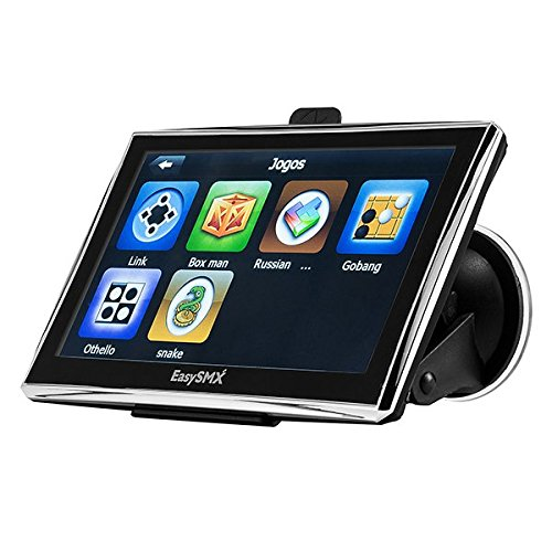 easysmx 84H de 3 Tarjetas de navegador GPS con pilas Ni-Mh 7 pulgadas TFT LCD Touch Screen/música Movie Player Multi de idioma (Navegación GPS Devices): ...