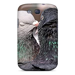 For Case Iphone 5C Cover Defender(doves Kissing)