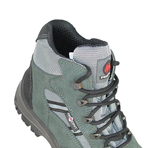 Aimont Palaos Evol S1P SRC Sicherheitsschuhe Trekkingschuhe hoch Grün B-Ware Grün