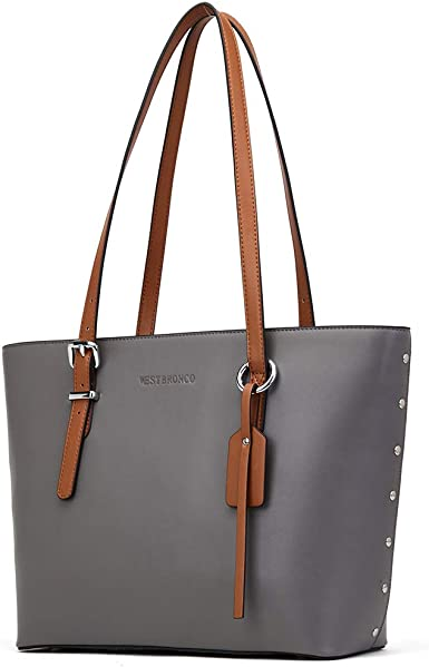 Women/'s Large Tote Bag Ladies Beautiful Stylish Faux Leather Tote Shoulder Bags