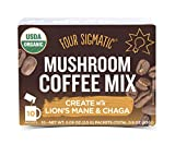 Four Sigmatic Mushroom Coffee, USDA Organic Coffee with...