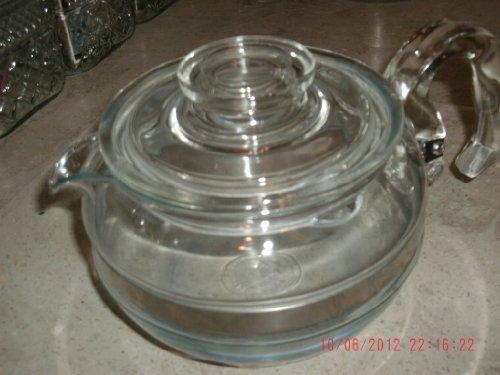 Pyrex Flameware Tea Pot Complete with Lid