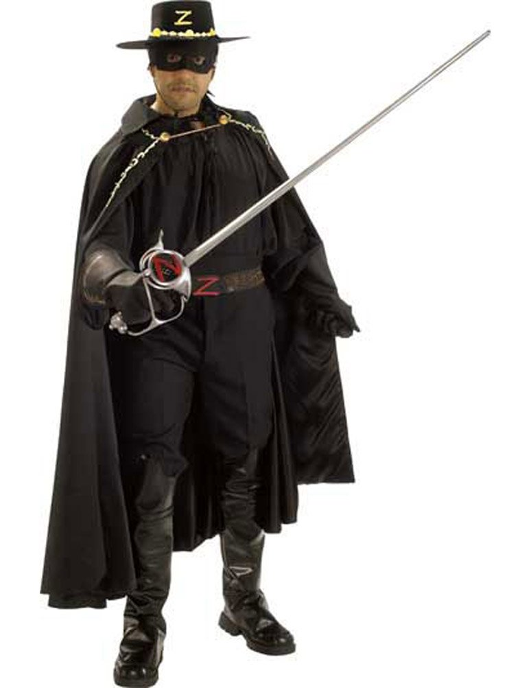 Grand Heritage Zorro Adult Costume - X-Large