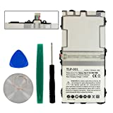 Samsung GALAXY TAB S 10.5 Tablet Battery TLP-031 Li-Pol Battery - Rechargeable Ultra High Capacity Embeeded Battery(Li-Pol 3.8V 7900 mAh) - Replacement For Samsung EB-BT800FBC Battery - Installation Tools Included