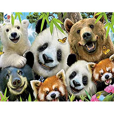 Selfies Bear Essentials Puzzle - 550Piece: Toys & Games