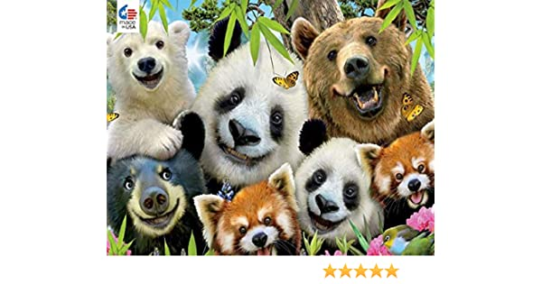Woodland Creature Selfies Jigsaw Puzzle 550 Pieces