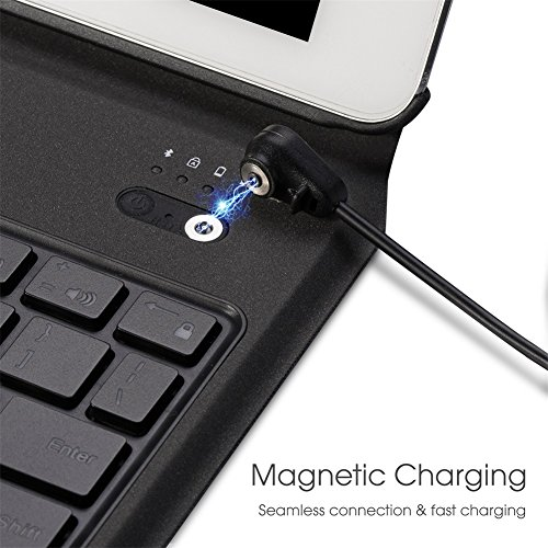 Apsung Keyboard Case New Tablet 9.7,Ultra-Thin Aluminum Portfolio Case, Wireless Smart Keyboard by Apsung (Image #3)