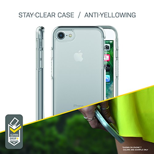 OtterBox SYMMETRY CLEAR SERIES Case for iPhone 8 / 7  - Retail Packaging - BLACK CRYSTAL (CLEAR/BLACK)
