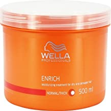 Wella Enrich Moisturizing Treatment for Coarse Hair for Unisex, 16.9 Ounce