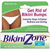 Bikini Zone Medicated Gel 1oz Get Rid Of Bikini Bumps
