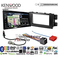 Volunteer Audio Kenwood Excelon DNX694S Double Din Radio Install Kit with GPS Navigation System Android Auto Apple CarPlay Fits 2009-2011 Kia Borrego
