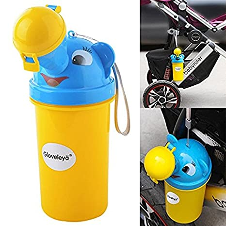 Gloveleya Female Portable Urinal Plastic Potty Pee Bottle for Camping Car Travel 800 ML